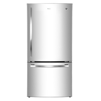 Refrigerador GE Profile de 21' Full Door Drawer, color acero inoxidable