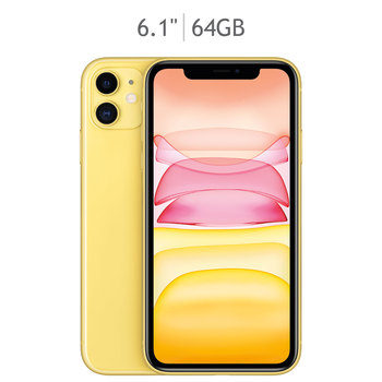 Apple iPhone 11 64GB Amarillo (Telcel)