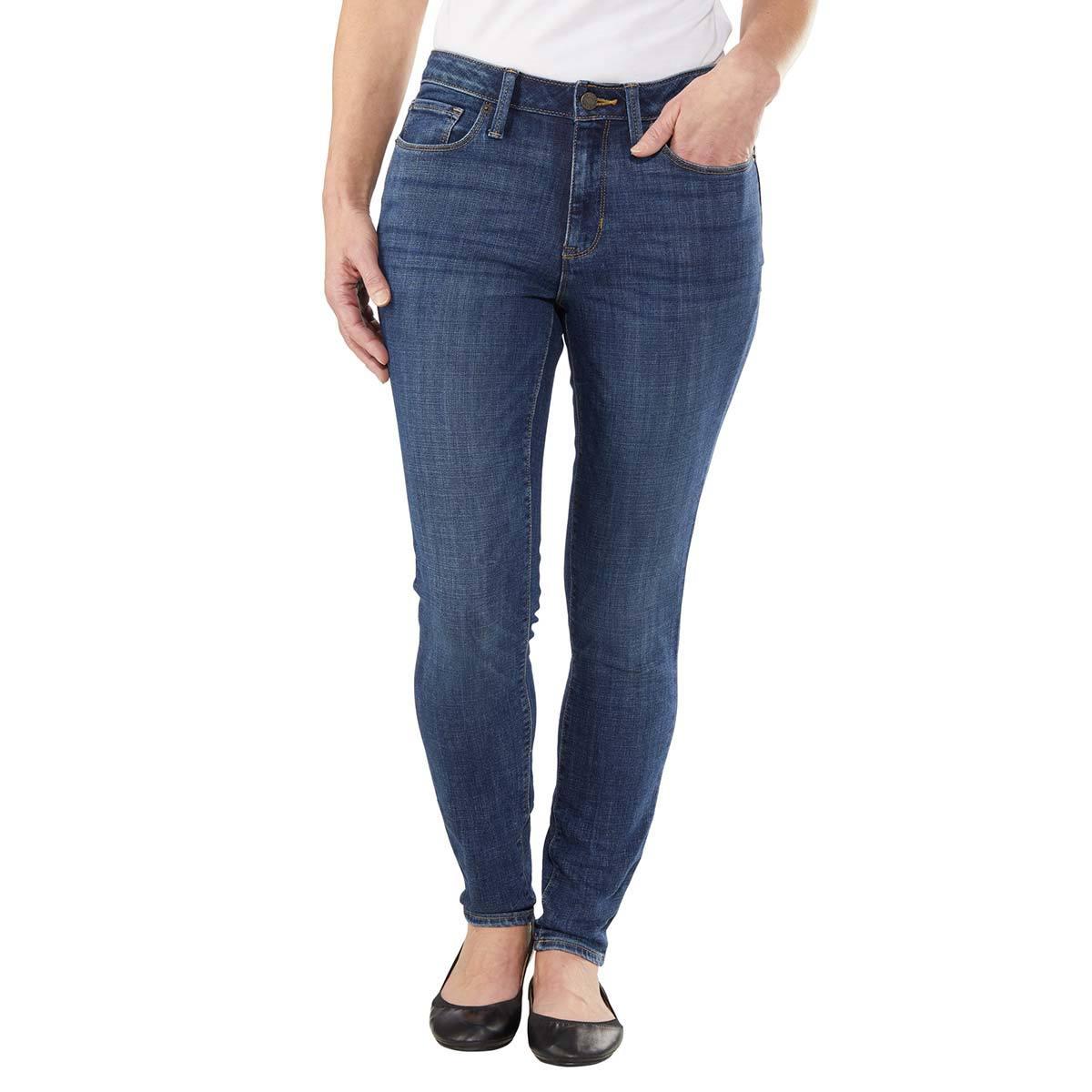 Calvin Klein Skinny Jeans Para Dama Azul Costco Mexico