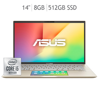 "Asus Laptop 14"" 10th Gen 8GB 512SSD S432FA-EB064T"