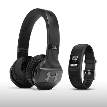 JBL Under Armour Audifonos + Garmin Vivo Fit 4 Bundle