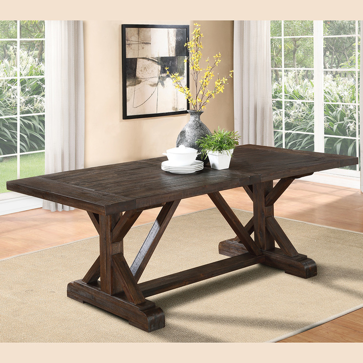 Modus furniture cade mesa para comedor madera costco - Mesa de comedor plegable a la pared ...