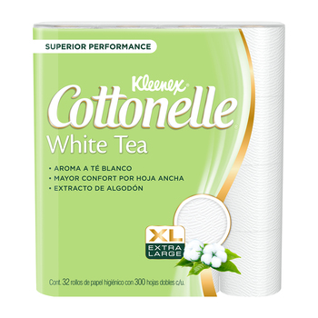 Cottonelle White Tea Papel Higiénico 32/300 hjs