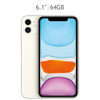 Apple iPhone 11 64GB Blanco (Telcel)