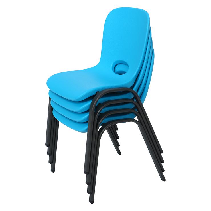 636e15c6b9d Lifetime, silla para niños, 4 piezas, azul   Costco Mexico