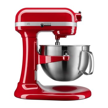 KitchenAid, Serie Professional 600 tazón elevable con batidor plano con borde flexible, 5.7L