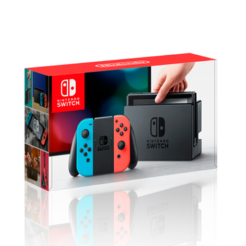 Consola Nintendo Switch neon blue & red joy-con