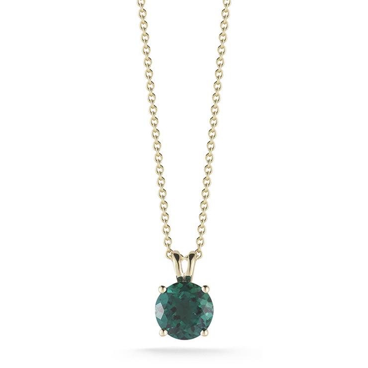 99fc12362739 Collar de esmeralda de laboratorio