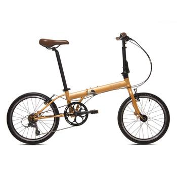 Bicicleta Plegable Modelo Comet 1508 Color Oro, Bickerton