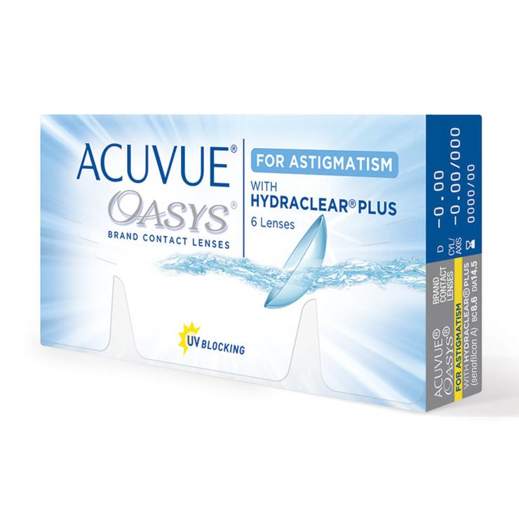 b815ae9e36a43 ACUVUE OASYS® lente de contacto con HYDRACLEAR Plus® para Astigmatismo