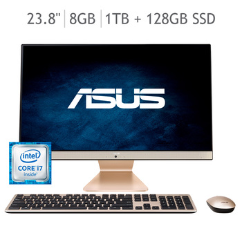 "Asus AIO Desktop 23.8"" Core I7- Geforce MX130- Memoria"