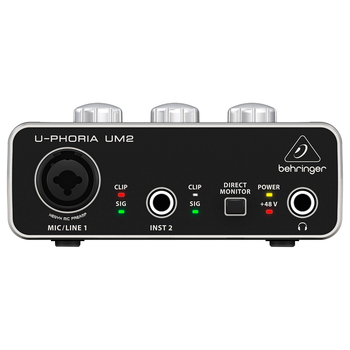Behringer, InterfaCe de Audio USB U-Phoria UM2