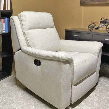 Kuka Home, sillón reclinable, tela