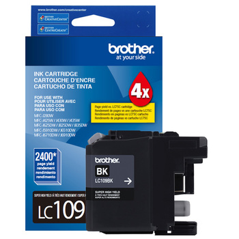 Brother cartucho de tinta 109 XXL super alto rendimiento negro