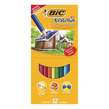 Bic Colores sin madera