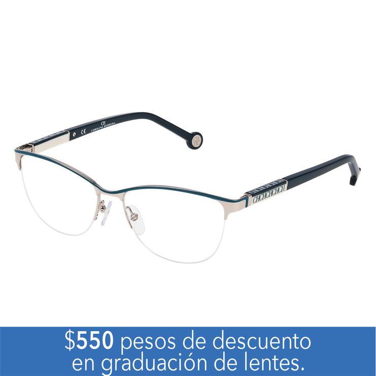 45462f0256 Carolina Herrera VHE.00079.E63.53 armazón oftálmico | Costco Mexico